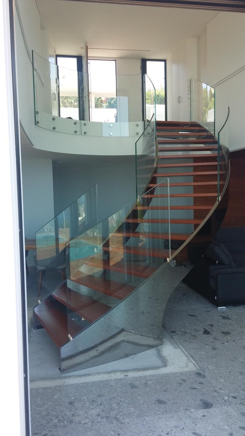 Foto Scale Interne Moderne scale design, scale per interni- scale acciaio inox | alfa