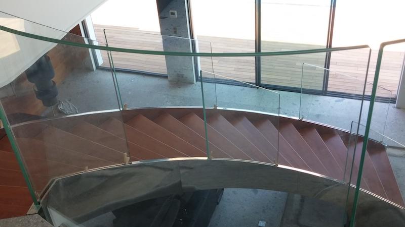 Scale Interne di design - Scale da interni - Scale moderne in acciaio Inox - Alfascale Novi Modena
