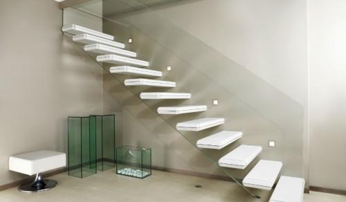 Scale a sbalzo per interni alfa scaleafascale - Foto di scale ...