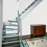 Scale a giorno, in ferro e vetro - Elite line Glass - Alfa Scale