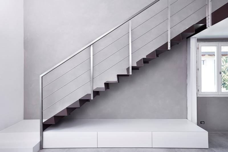 Molto Scale a Sbalzo - Step - Lamiera Pressopiegata - Alfa Scale ML93