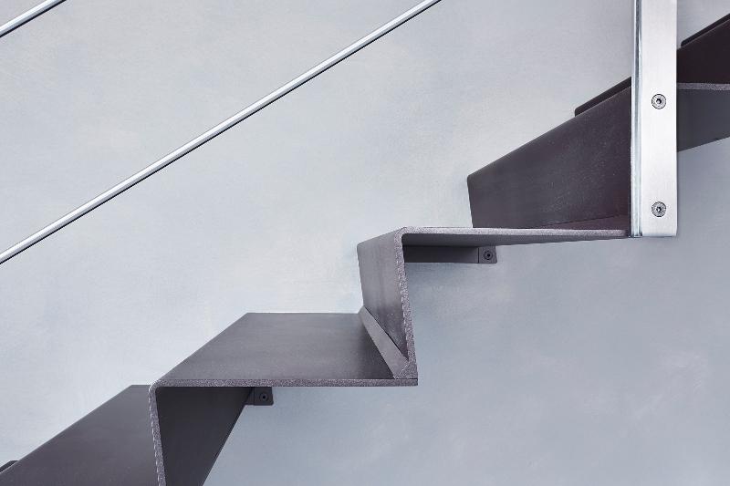 Preferenza Scale a Sbalzo - Step - Lamiera Pressopiegata - Alfa Scale DD28