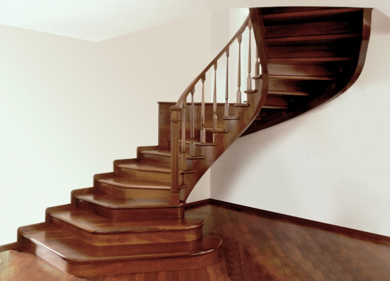 Scale in legno per interni mod a6 alfa scale - Legno per scale ...