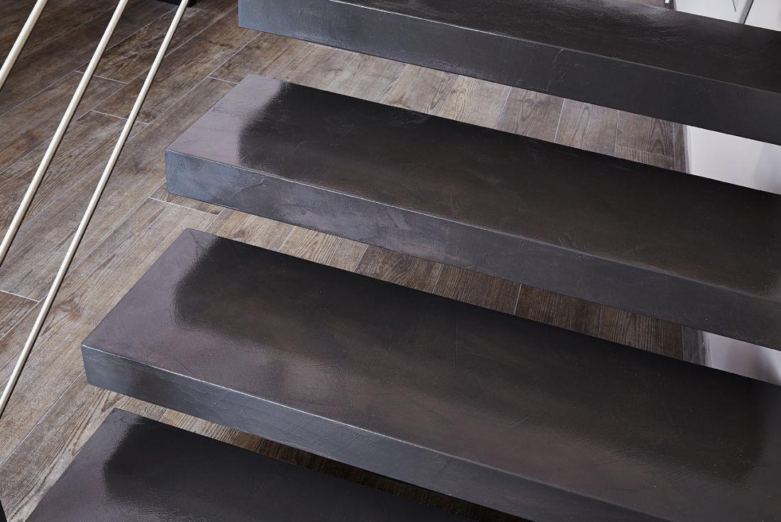 Rivestimenti Scale Interne Gres Porcellanato scale in resina - alfa scaleafascale