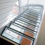 Vista Scale a giorno, in ferro e vetro - Elite line Glass - Alfa Scale