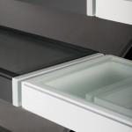 scale a giorno, in vetro, a sbalzo ghost glass alfa scale