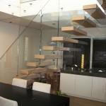 scale a sbalzo ghost struttura vetro alfascale