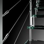 Particolare scale in vetro moden glass -alfascale