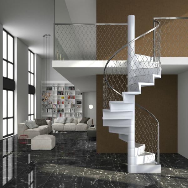 scale a chiocciola in legno smart fusion alfa scaleafascale. Black Bedroom Furniture Sets. Home Design Ideas