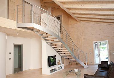 Scale in resina realizzazione di scala interna alfa for Opzioni esterne della casa