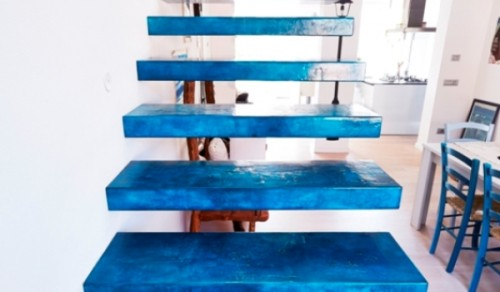 Delightful RESIN STAIRS