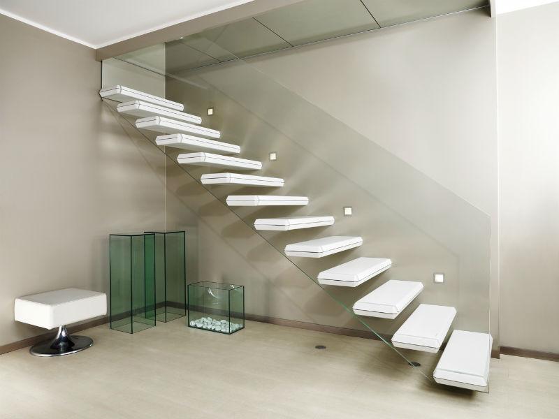 cantilevered stairs diamond corian alfa scaleafascale. Black Bedroom Furniture Sets. Home Design Ideas