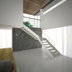 glass stairs-elite line wood-alfascale