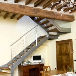 iron stairs-elite line wood4-alfascale