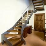 iron stairs-elite line wood5-alfascale