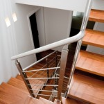 stainless steel stairs-elite strike inox wood-alfascale