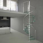 stainless steel stairs-reflex glass2-alfascale