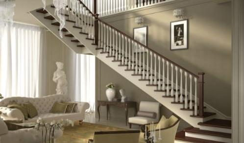 Scale per interni in legno alfa scaleafascale - Scale in legno per interno ...