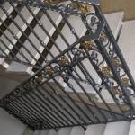 Scale Interne Classiche Ringhiera lavorata a mano in ferro battuto - Alfa Scale