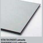 Ringhiere in vetro Trasparente Antracite - Alfa Scale