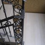 Scale Interne Classiche Ringhiera in ferro battuto lavorata a mano - Alfa Scale
