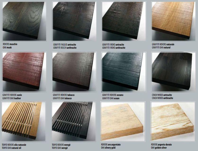 Estremamente Legno scale Interne - Materiali YS11