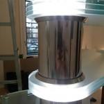 Scala a Chiocciola Reflex Glass Led- particolare